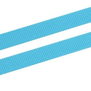 Grosgrain Satin ribbon, narrow Turquoise, Grosgrain  9 mm x 91,4 m