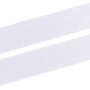 Wstążka z satyny Kolor biały  16 mm x 91,4 m