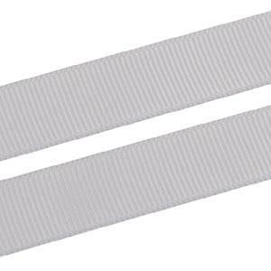 Prążkowana wstążka z satyny, 16 mm