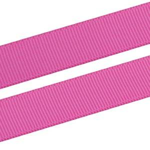 Grosgrain Satin ribbon, wide Dark Rose, Grosgrain  16 mm x 91,4 m