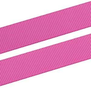 Geribbeld Satijnlint, breed Roze Grosgrain lint  16 mm x 91,4 m