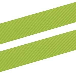 Geribbeld Satijnlint, breed Lime Grosgrain lint  16 mm x 91,4 m