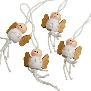 Aniołki świąteczne, 100 sztuk