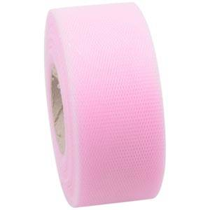 Tulle ribbon Rose  40 mm x 50 m