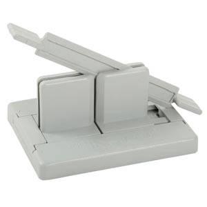 Système Bowdabra pour la confection de noeuds Plastique gris 115 x 89
