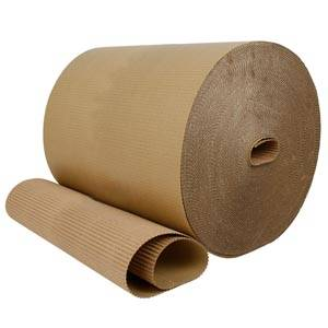 Corrugated paper Brown  400 mm x 70 m