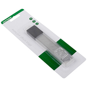 Spare Knife Blades 18 mm Wide, for Stanley Knife 10 Knives in Plastic Container