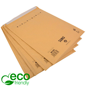 Eco-friendly Mailers, XL Brown - padded envelope, 100% recycled paper 365 x 464 (460 x 335 mm)