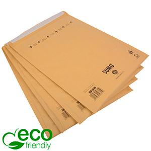 Milieuvriendelijke enveloppen, extra groot Bruin - luchtkussenenvelop, 100% gerecycled papier 365 x 464 (460 x 335 mm)