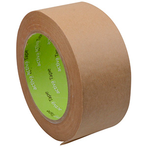 48 mm Eco-Friendly Paper Packaging Tape Adhesive Brown Tape 50 x 48