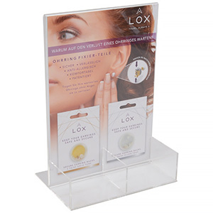 Display for LOX locks (German text)