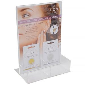 Display for LOX locks (English text)