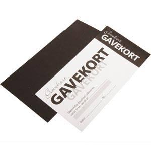 Presentkort med kuvert