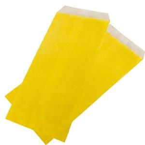 Sachets papier robuste jaune, 1000 pcs