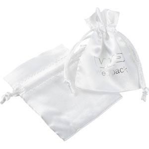 Satinbeutel mini Weiß 75 x 90