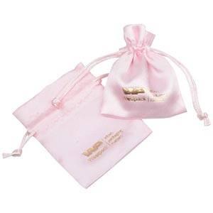 Sakiewka satynowa/ mini Kolor różowy 75 x 90