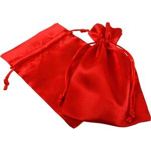 Satin pouch, medium
