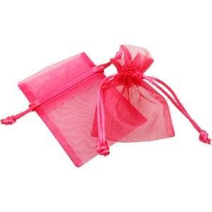 Sakiewka z organdyny, mini Kolor Różowy 70 x 90