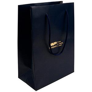 Matt carrier bag with handle, large
