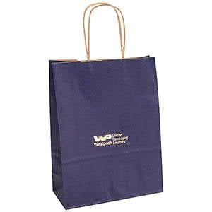Low-Cost Kraft Paper Carrier Bag, small