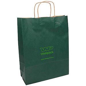 Low-Cost Kraft Paper Carrier Bag, XL