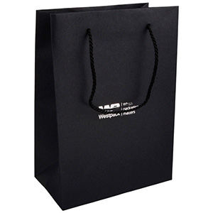 Kraft Paper Carrier Bag with Handle, Large