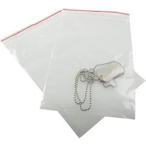 Lynlåspose uden skrivefelt 1000 stk. Klar (stor/aflang) 120 x 180 50 MY