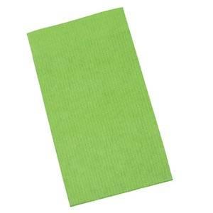 Pochette en papier kraft, taille S Vert lime mat (papier à rayures fines) 75 x 130