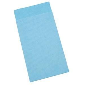 Pochette en papier kraft, taille S Bleu ciel (papier à rayures fines) 75 x 130