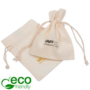 Fairtrade Bomullspåsar, liten Natur 90 x 120