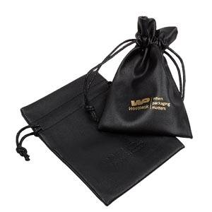 Leatherette pouches for jewellery, medium