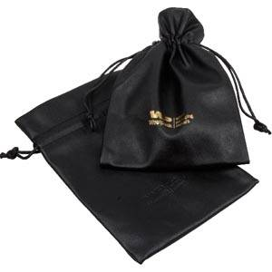Leatherette pouches for jewellery, large