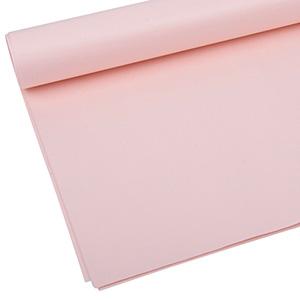 Papier de soie x 480 feuilles - Sans chlore, ni ac Rose clair 760 x 505 17 gsm