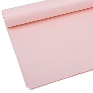 Tissue paper chloride and acid free, 480 sheets Light Pink 760 x 505 17 gsm