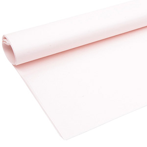 Tissue paper chloride and acid free, 480 sheets Rose Quartz 760 x 505 17 gsm
