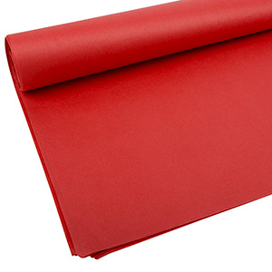 Tissue paper, 480 sheets Red 760 x 505 17 gsm