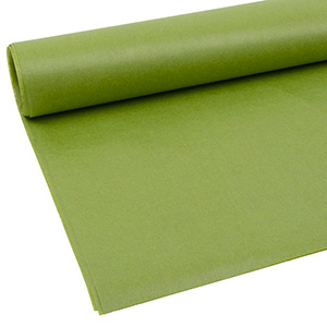 Tissue paper, 480 sheets Olive green 760 x 505 14 gsm