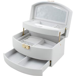 No 808 - Fold-out Jewellery Case with Travel Purse