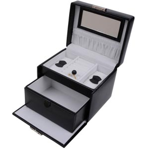Coffret à bijoux avec 1 titoir, N° 810
