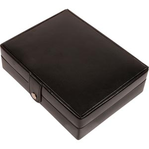 No. 818 - Modern Leather Travel Case for Jewellery