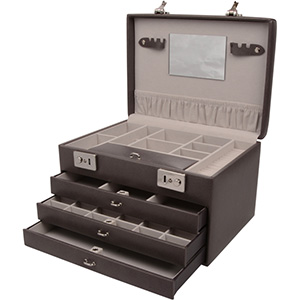N°. 820 - Coffret bijoux à 3 tiroirs