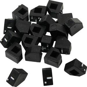 20 Price Cubes (Black) No .-