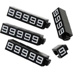 20 Price Cubes (Black)