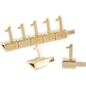 Luksusowe cyferki cenowe, złote