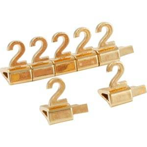 Luxury Price Cubes, gold