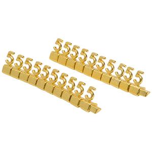 8 mm Luxury Jewellery Price Cubes, 20 pcs