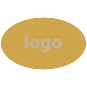 Adhesive label 002, oval