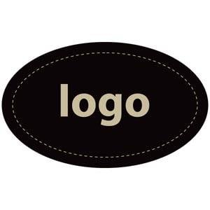 Adhesive Logo Label 002 - Oval