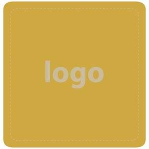 Adhesive label 017, square