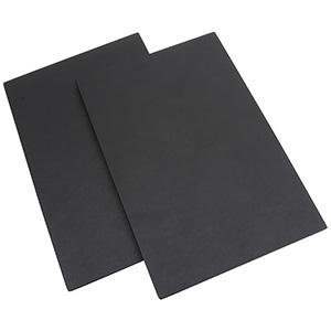 Couvercle pour Plateau de présentation Similicuir Noir, ultralégers 235 x 156 x 8
